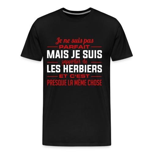 Je ne suis pas parfait mais je suis supporter... - T-shirt Premium Homme