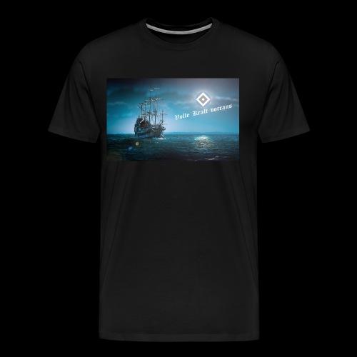Hamburg Schiff - Männer Premium T-Shirt