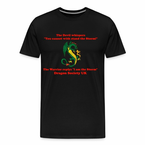 Devil whispers - Men's Premium T-Shirt