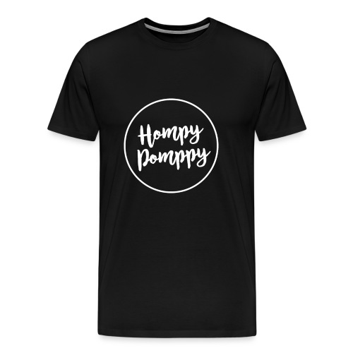 HompyPomppy White Series - Camiseta premium hombre