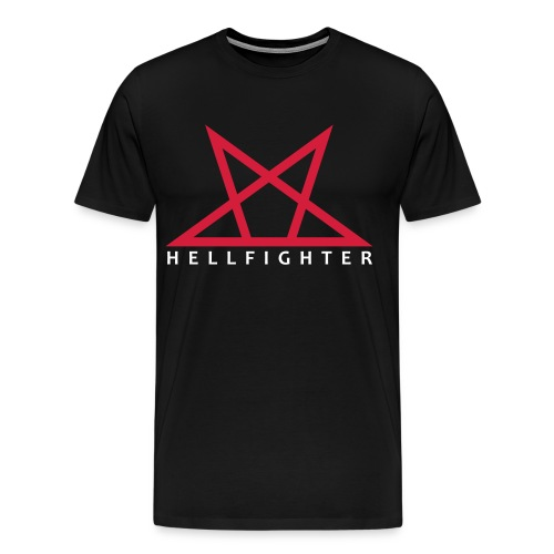 HELLFIGHTER PENTAGRAM red - Männer Premium T-Shirt