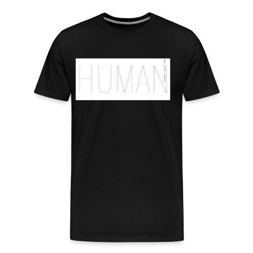 Human Collection 1.0 - Premium-T-shirt herr