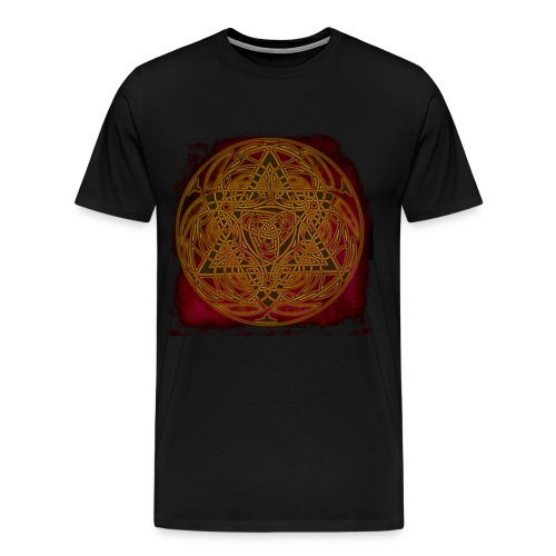 keltenlogo - Männer Premium T-Shirt