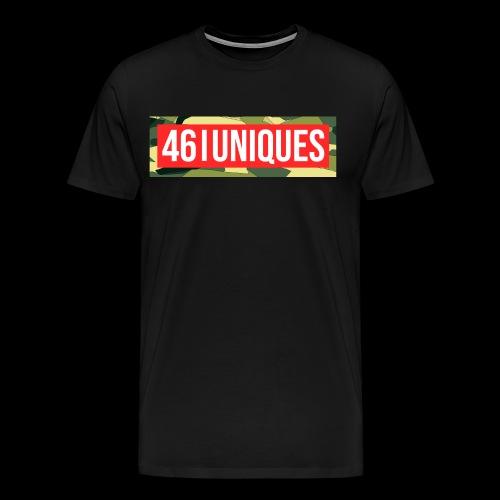 fourtysix red camo - Männer Premium T-Shirt
