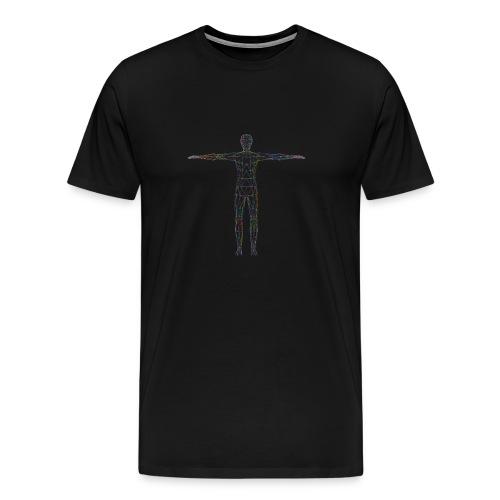 three d 1781598 - Männer Premium T-Shirt