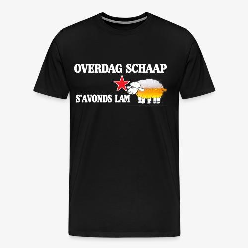 Overdag Schaap S'avonds Lam! - Mannen Premium T-shirt
