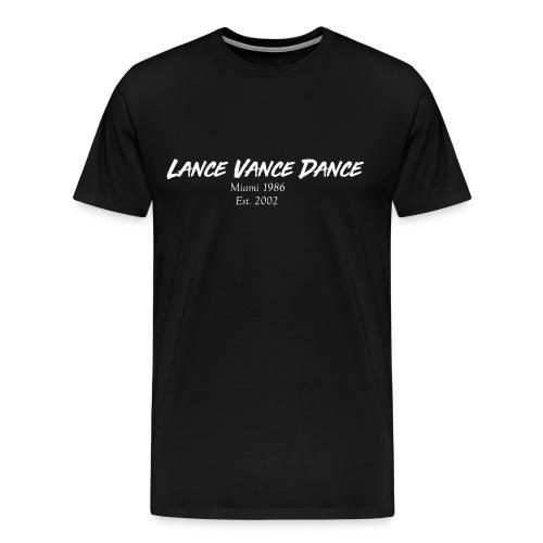 Lance Vance Dance (white) - Männer Premium T-Shirt