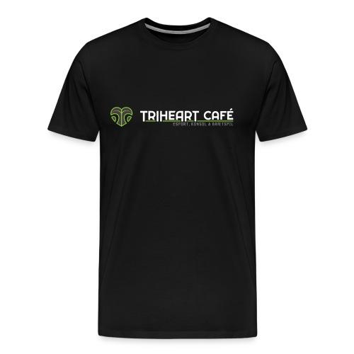 TRIHEART LOGO NEW WHITER - Men's Premium T-Shirt
