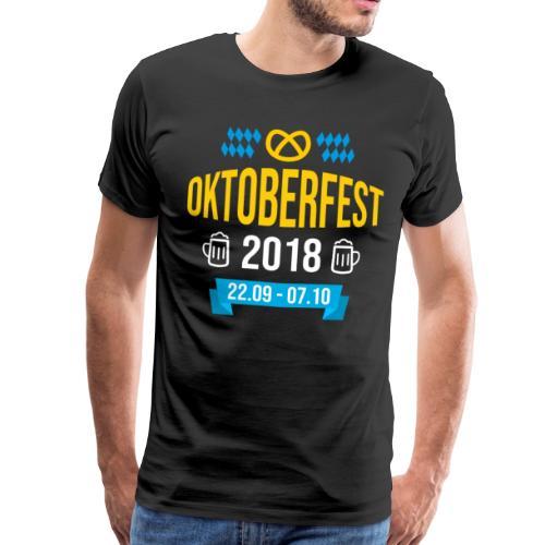 Oktoberfest 2018 Bayern Bierfest Bier München - Männer Premium T-Shirt