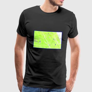gol numero 10 nerazzurro - Maglietta Premium da uomo