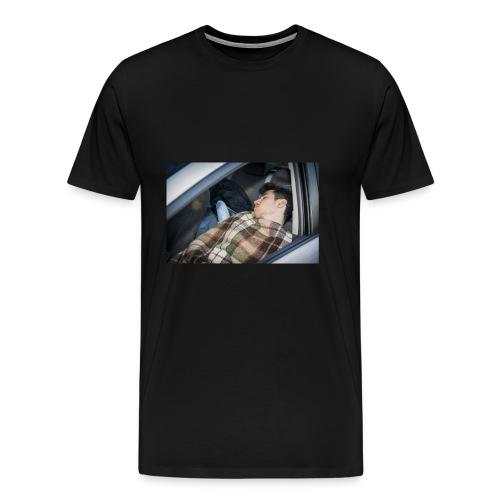 Schlafender Schneider - Männer Premium T-Shirt