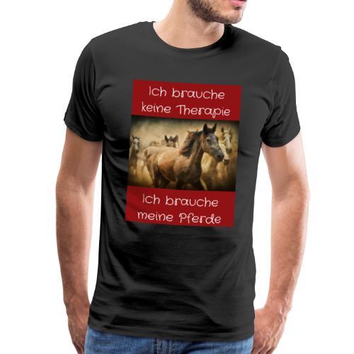 Pferde Tierfreunde, Geschenke, M50, s.unten - Männer Premium T-Shirt