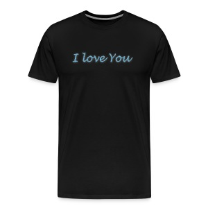 i love you T-shirt - T-shirt Premium Homme