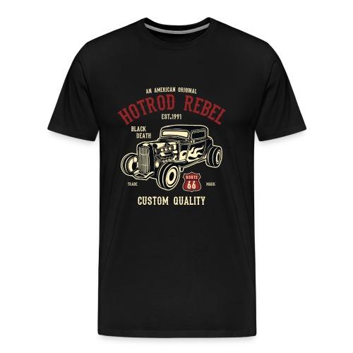 Hot Rod Auto - Männer Premium T-Shirt