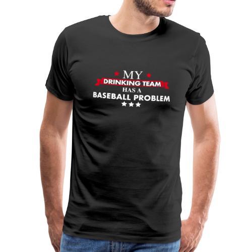 Baseball Drinking Team - Männer Premium T-Shirt