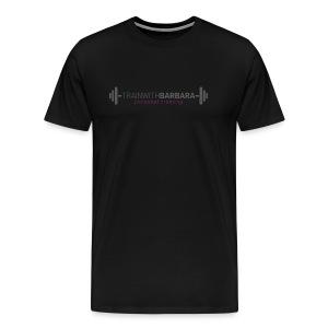 TRAINWITHBARBARA - Mannen Premium T-shirt
