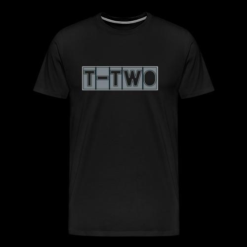 T TWO LOGO - Männer Premium T-Shirt