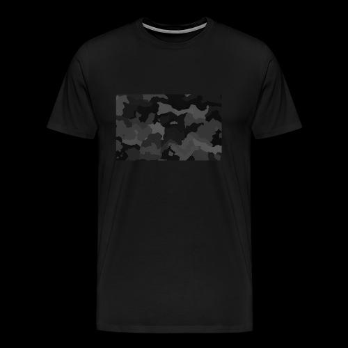 Camouflage-Black - Männer Premium T-Shirt