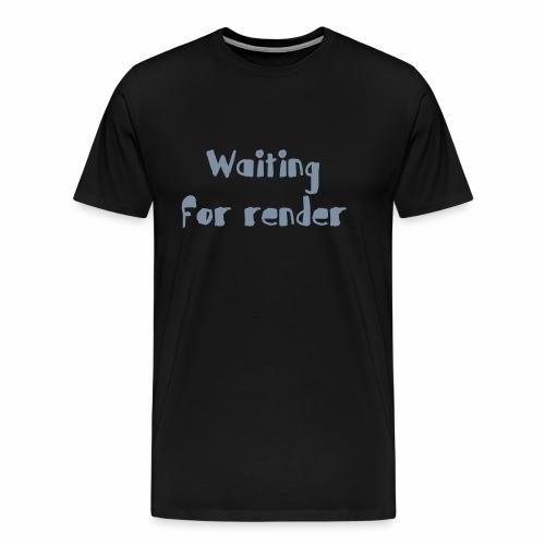 RENDER - Camiseta premium hombre