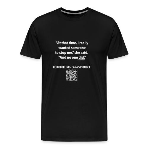 Caras Project fan shirt - Men's Premium T-Shirt
