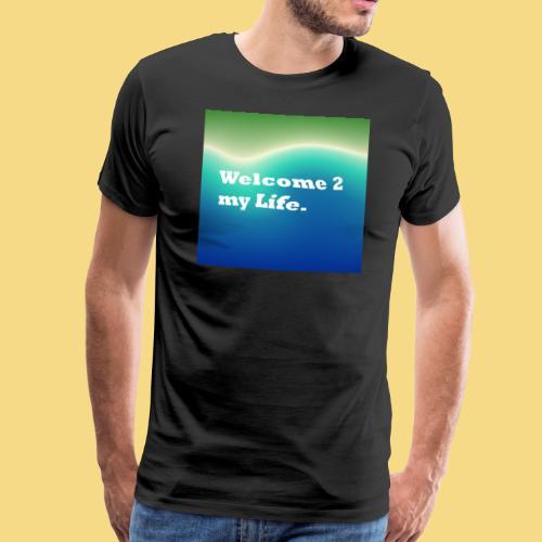 my Life Leben Lieben Genießen Abenteuer - Männer Premium T-Shirt