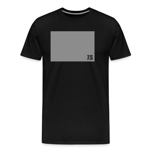 JustSquares Grijs - Mannen Premium T-shirt