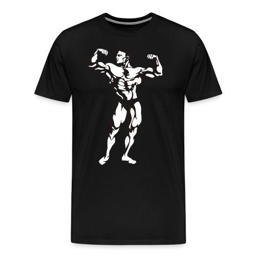 Oldschool Bodybuilding GOLIATHWEAR - Männer Premium T-Shirt
