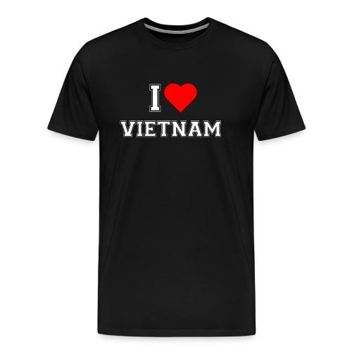 I love Vietnam - Männer Premium T-Shirt