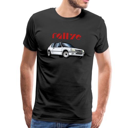 1 3 rallye 90 92 Blanc Meije - T-shirt Premium Homme