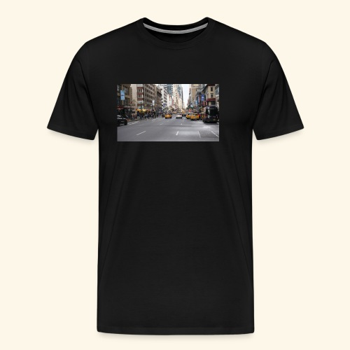 New York Traffic - Männer Premium T-Shirt
