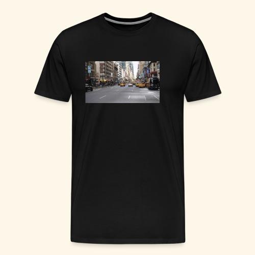 New York Traffic - Männer Premium T-Shirt