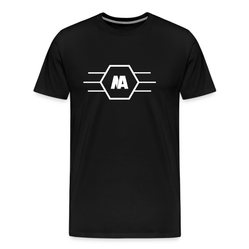 Never Aver Emblem - Männer Premium T-Shirt