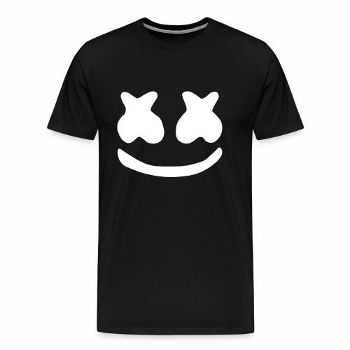 Marshmello logo - Mannen Premium T-shirt
