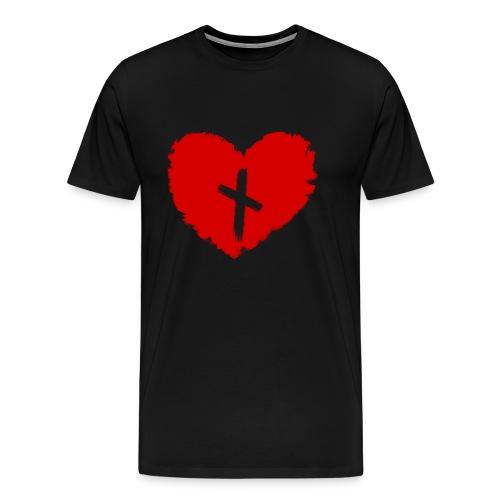 heart love magic rune to obtain lover - Men's Premium T-Shirt