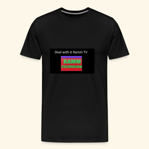 Deal it with Ramm TV - Männer Premium T-Shirt