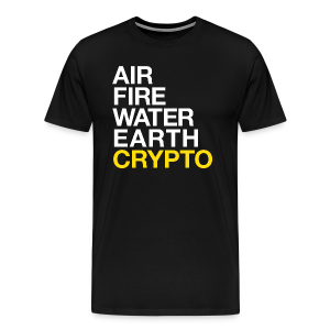 5 Elements - Crypto - Men's Premium T-Shirt