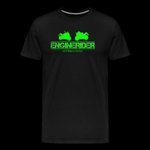 ENGINERIDER MOTO - Männer Premium T-Shirt