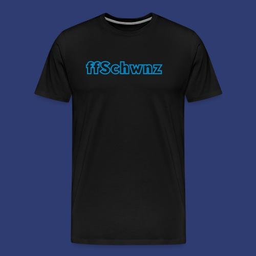 ffschwnz - Mannen Premium T-shirt