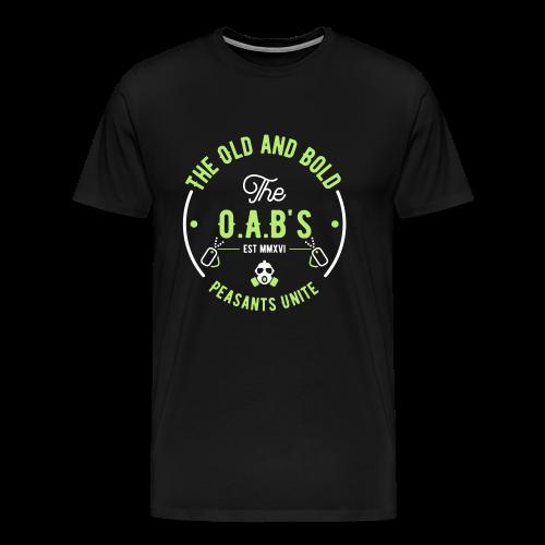 OAB unite green - Men's Premium T-Shirt