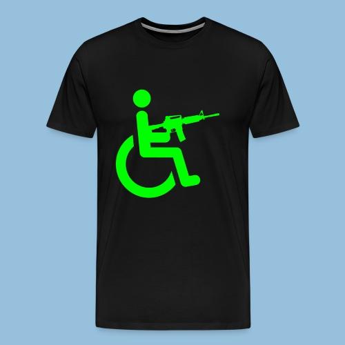 WheelchairM16 - Mannen Premium T-shirt