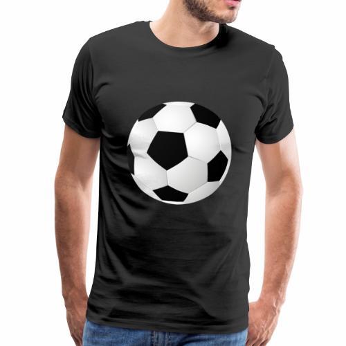 Großer Fußball - Männer Premium T-Shirt