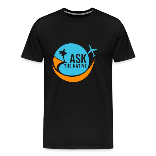 Ask the Native Original Logo - Mannen Premium T-shirt