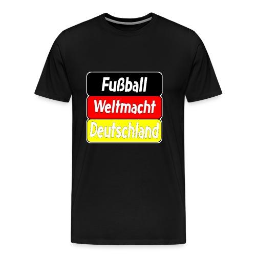 Deutschland, Fußball, Weltmeisterschaft, FanTrikot - Männer Premium T-Shirt
