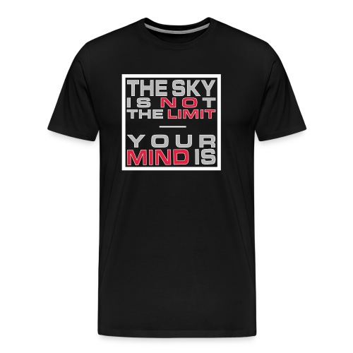 No Limit Mind - Männer Premium T-Shirt