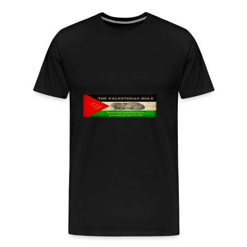 The Palestinian Mole - Men's Premium T-Shirt