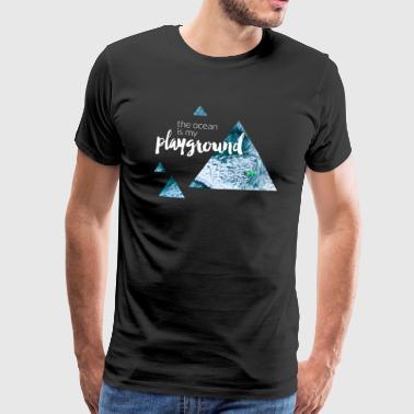 Havet är min lekplats - Premium-T-shirt herr