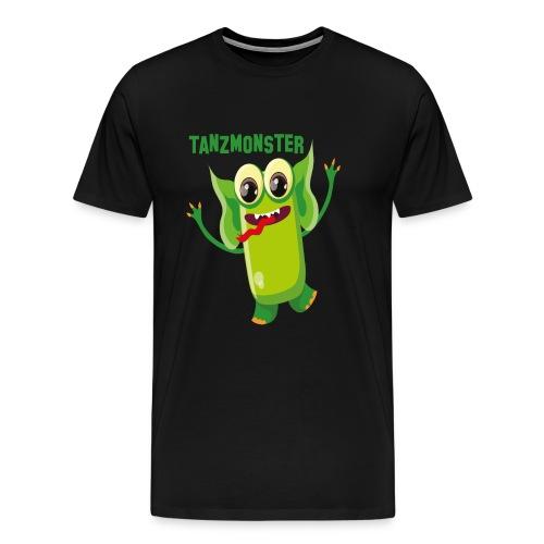Grünes Tanzmonster - Männer Premium T-Shirt