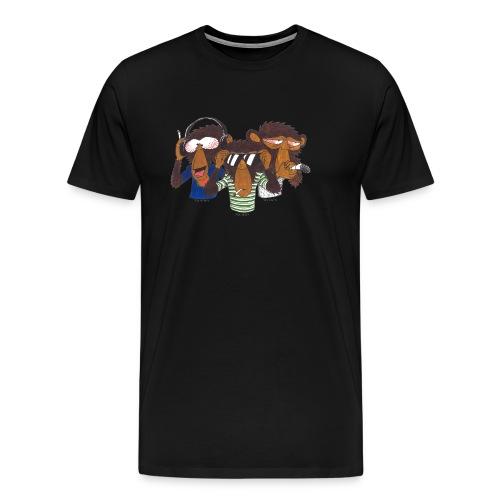 Die 3 weisen Affen - Männer Premium T-Shirt