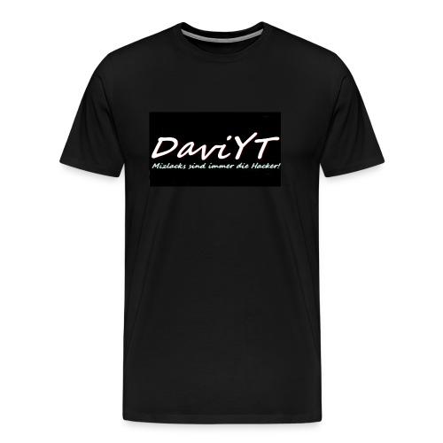 DaviYT Merch - Männer Premium T-Shirt
