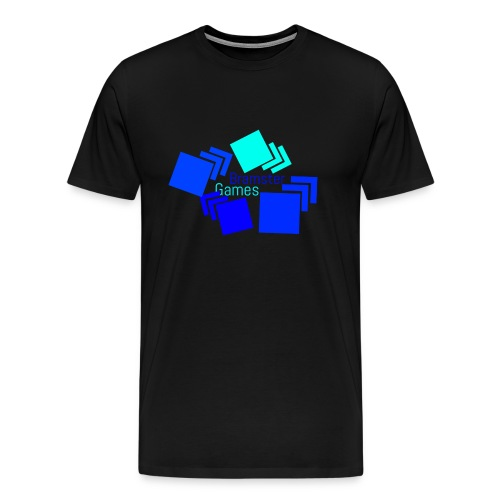 Bramster Games Nieuw Logo - Mannen Premium T-shirt